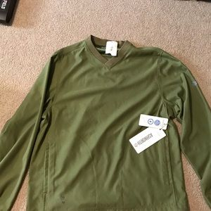 Ashworth Weather Systems L/S Windshirt Size Med